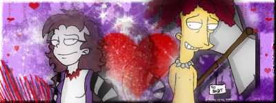 CW and Sideshow Bob SIGGY by VotrePoison
