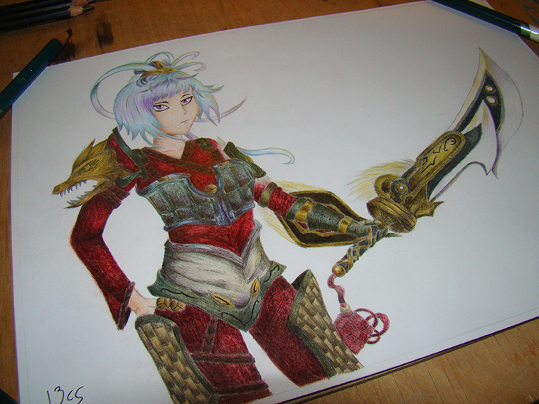 Dragonblade Riven By Hachikuichi