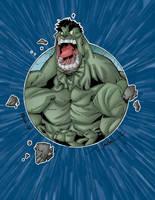 Seven Sanchez Hulk colors by Salvador-Raga