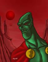 Martian Manhunter digital by Salvador-Raga