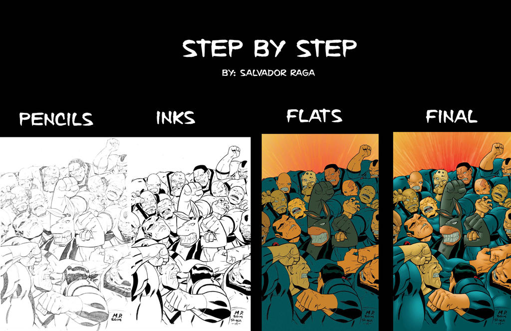 Step by step by Salvador-Raga