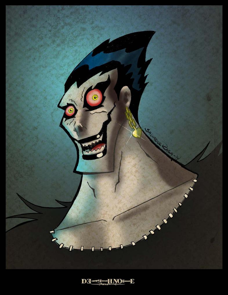 Death Note colors by Salvador-Raga