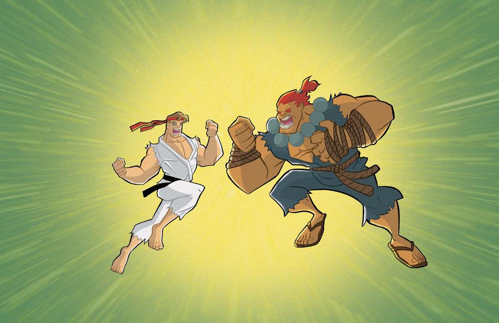 Ryu-Akuma by Salvador-Raga