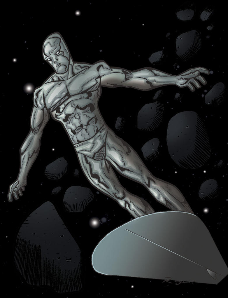 Silver Surfer by Salvador-Raga