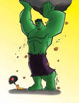 Hulk and little friend-colors