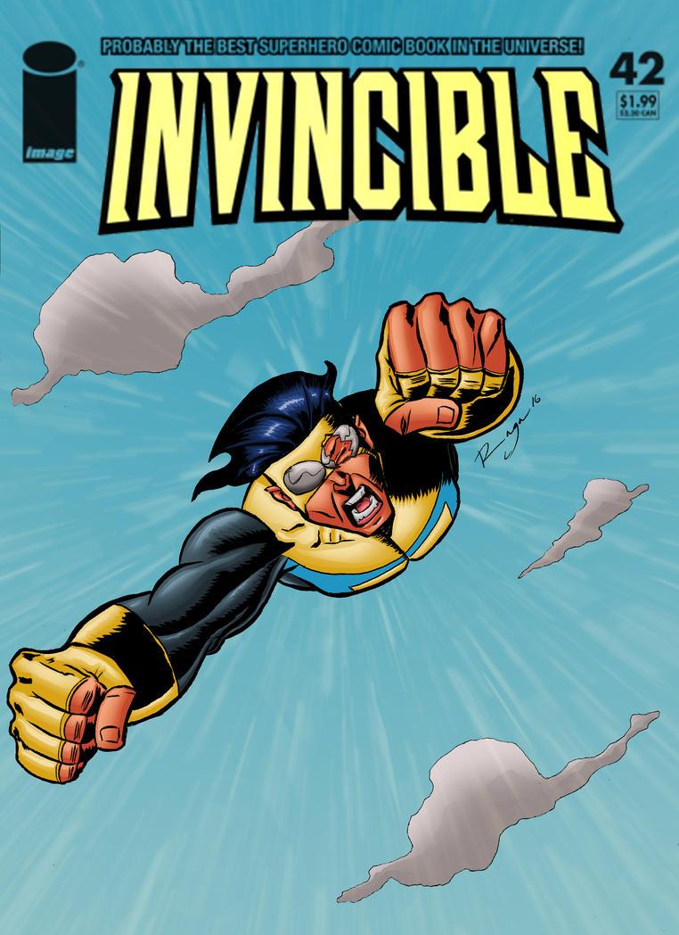 Invincible cover mock up by Salvador-Raga