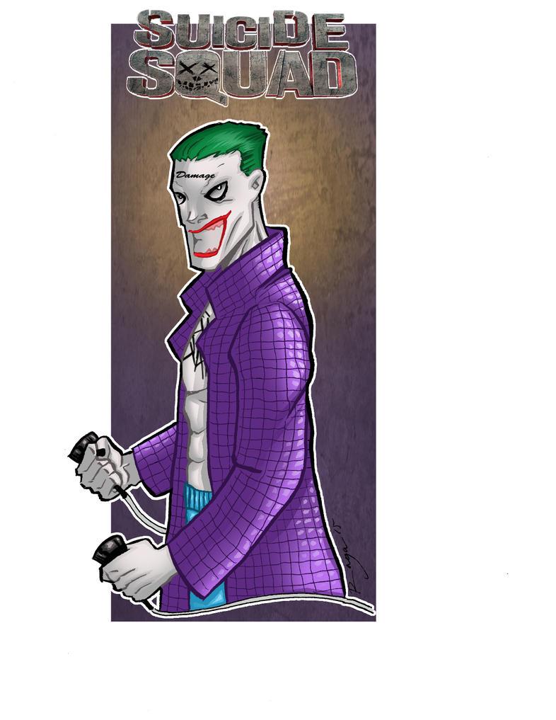 Jared Leto Joker's by Salvador-Raga