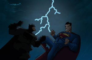 Batman vs Superman by Salvador-Raga