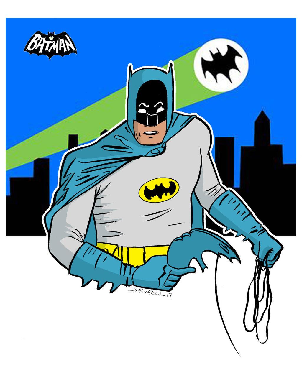 Batman rip by Salvador-Raga
