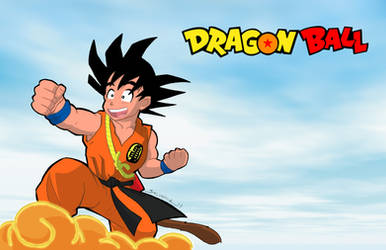 Dragon Ball-print