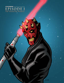 Darth Maul-colors