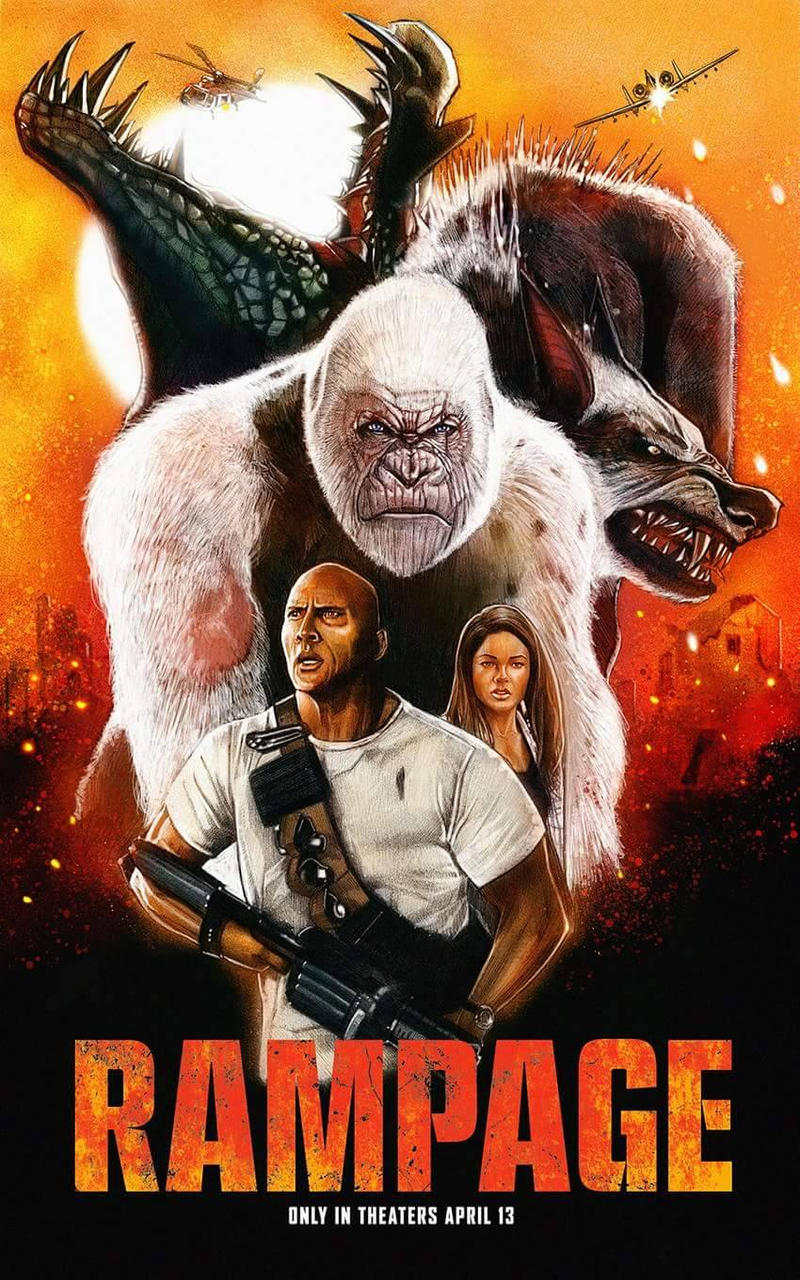 Rampage Fan Movie Poster By Wallacedestiny On Deviantart