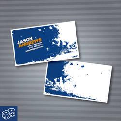 My Business Card by jahnetik