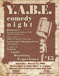 YABE Comedy Poster