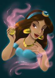Princess Jasmine by Bloodhaunt