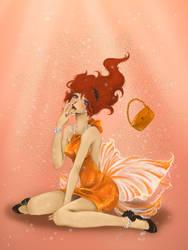little miss goldfish by Bloodhaunt