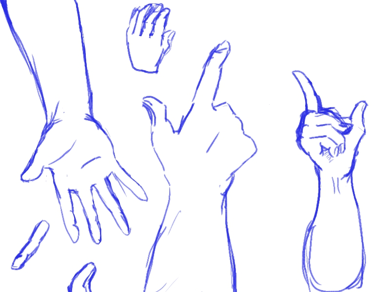 Hands Practice by Taiyou627