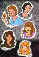 Peculiar Girls by AliAvian