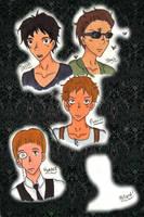 Peculiar Boys by AliAvian