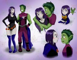 Teen Titans: BBxRae Snippets