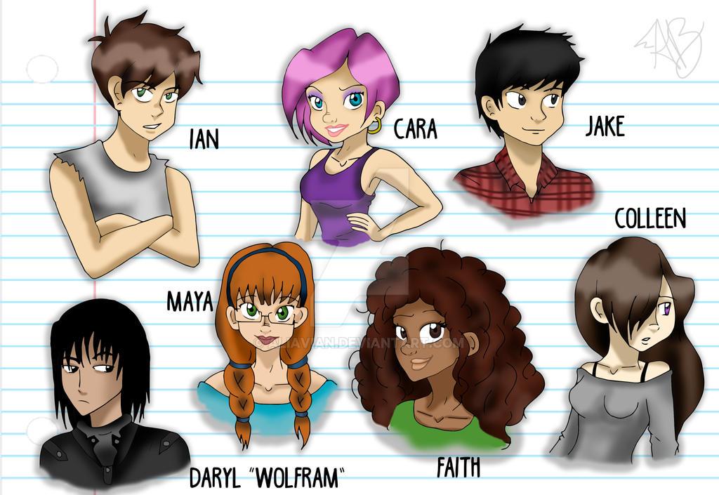 Ali Kiba Wallpaper: Characters For Brina119 By AliAvian On DeviantArt