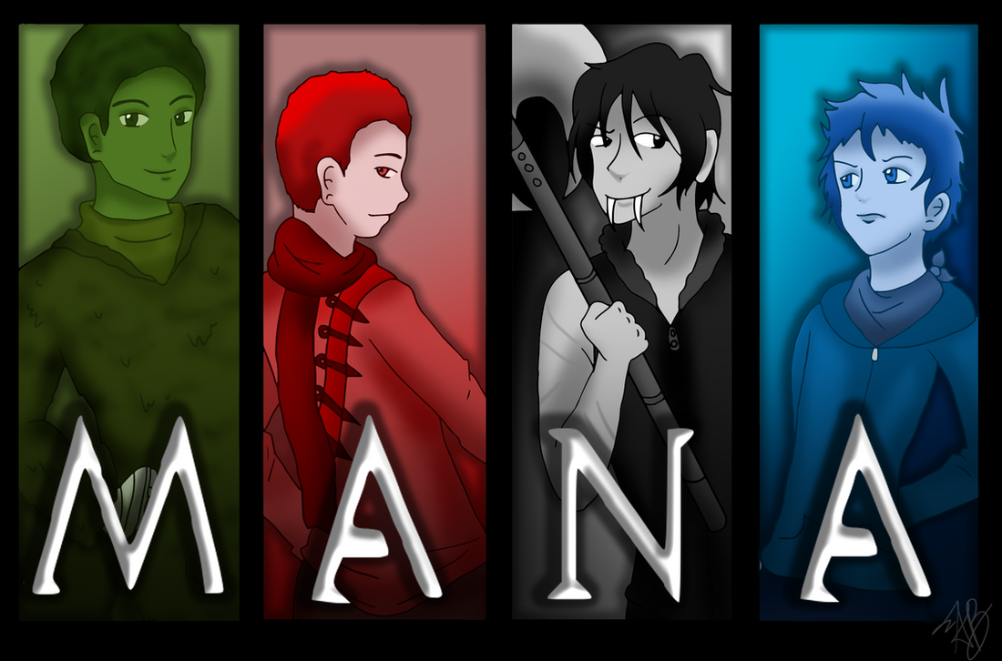 Commission: Team MANA by AliAvian