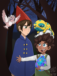 The Dragon Prince as OtGW  by AliAvian