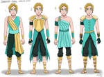 Multiple Outfit Designs- Robin