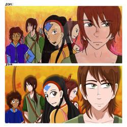 Draw This Again- Avatar Team by AliAvian