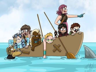 Draw the Squad- Going Down with The Ship by AliAvian