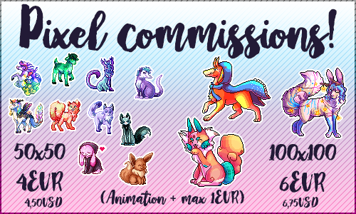 Pixel commission ID 2016 [OPEN!] by Shikariix