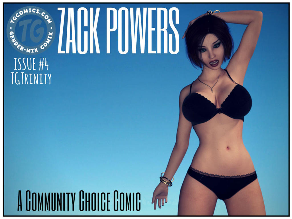 TG COMIC: Zack Powers Issue #4 by TGTrinity