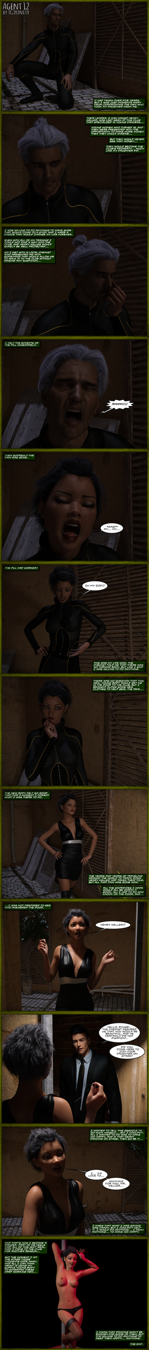 TG COMIC: AGENT 12 by TGTrinity