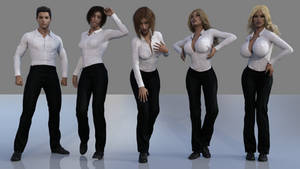 TG Sequence: Dress Shirt by TGTrinity
