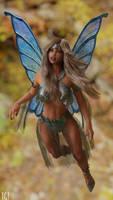 FAN-ART: Blue Fairy Thea