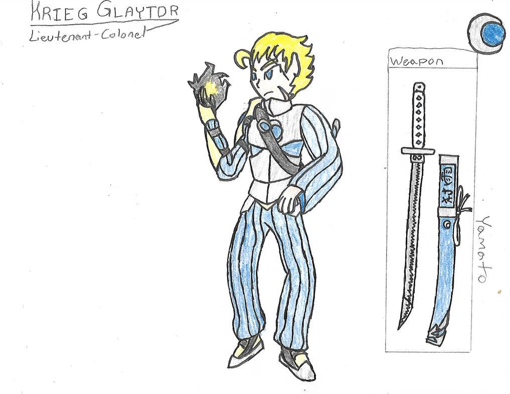 A Tale of Broken Swords Concept Art: Krieg Glaytor by Shoke113