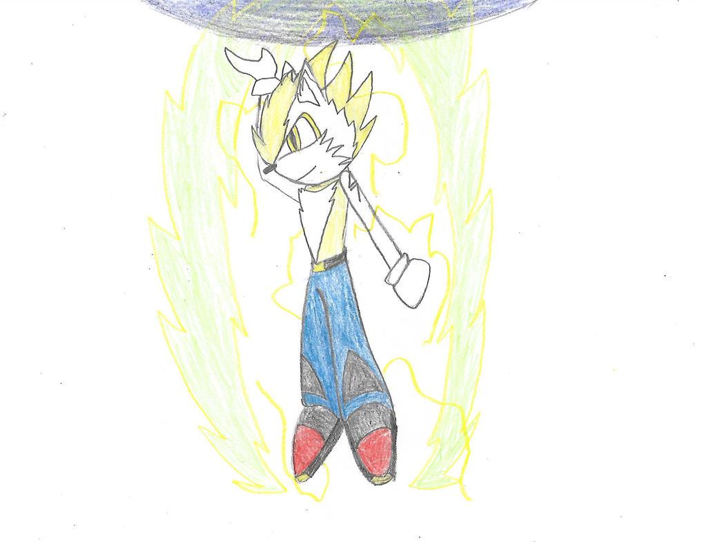 Sonic Fan Character: Super Ronin the Lynx by Shoke113