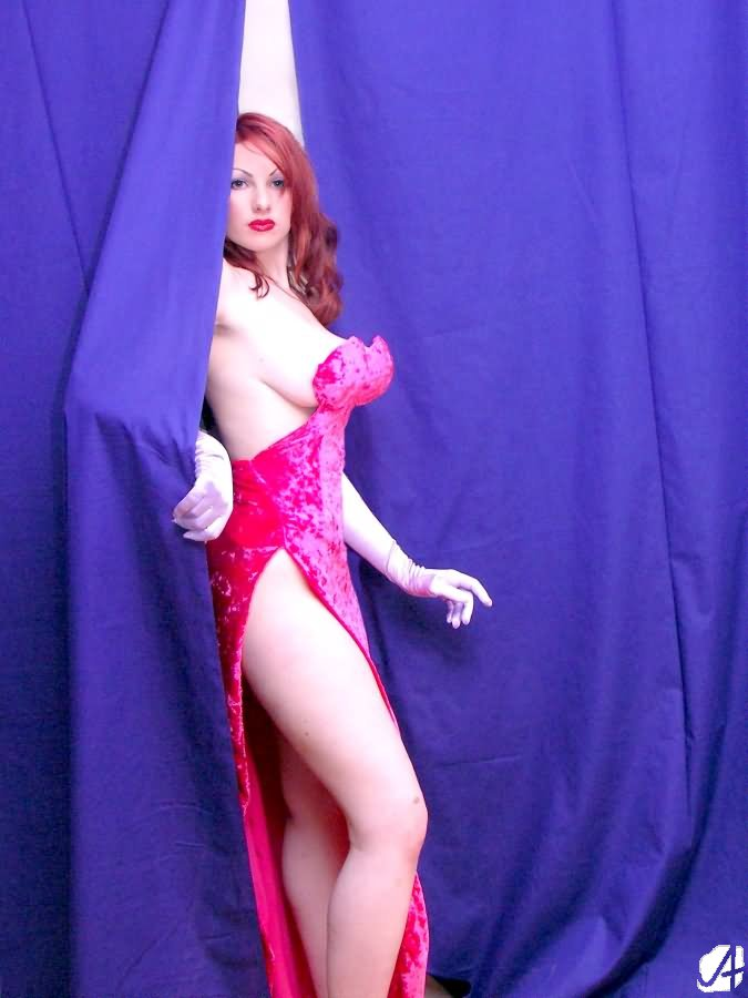 Jessica Rabbit - Entrance by geoectomy