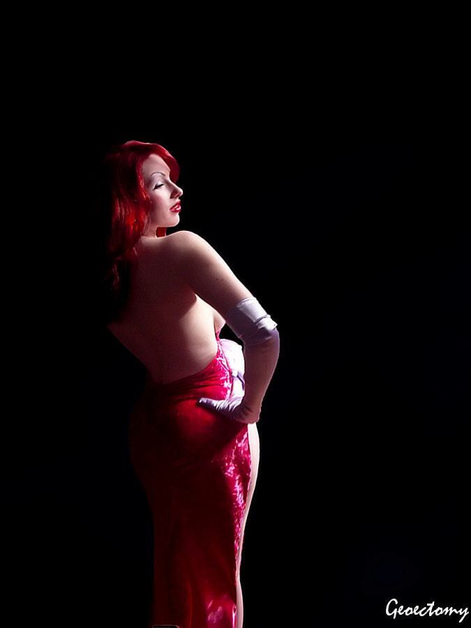 Jessica Rabbit Again by geoectomy