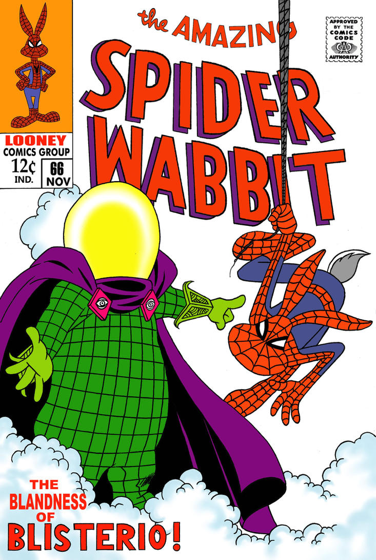 Spider Wabbit Vs.Blisterio by roperseid