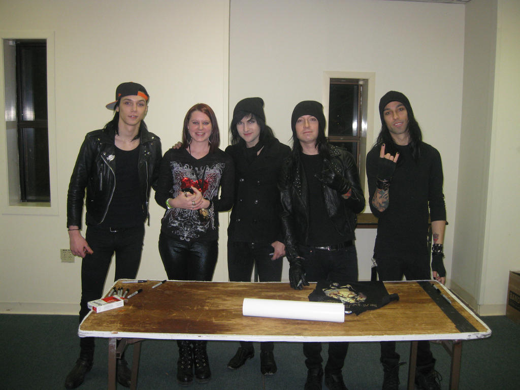 0457 Me And Black Veil Brides By Narutofanbilly On Deviantart