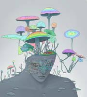 Mushroom Head by SuperPhazed