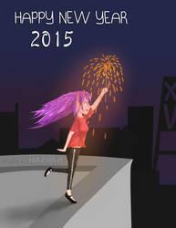 Happy New Year 2015 by hhaswan