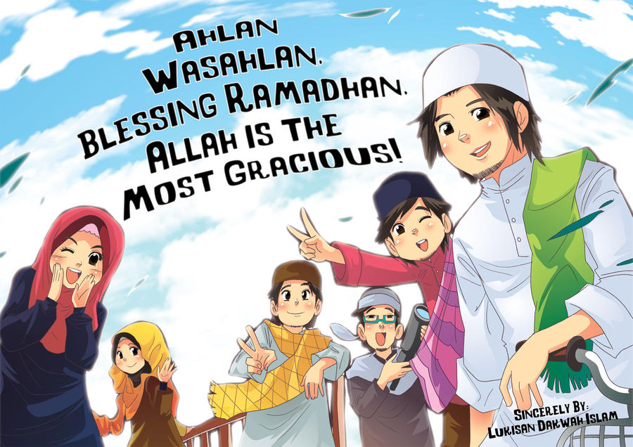 Ahlan Wasahlan Ramadhan Al Mubarak by saurukent