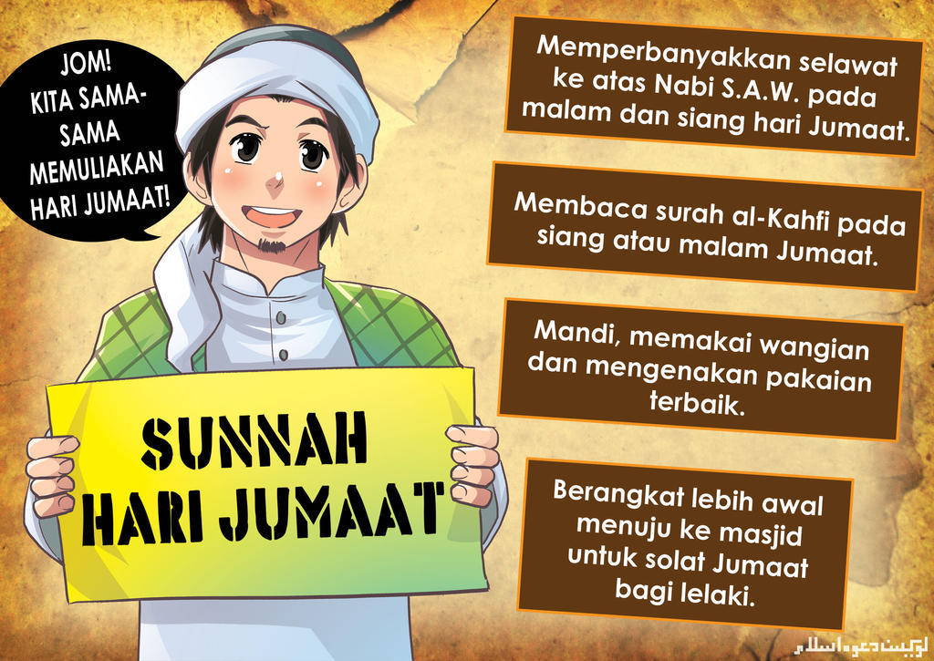 Sunnah Hari Jumaat by saurukent