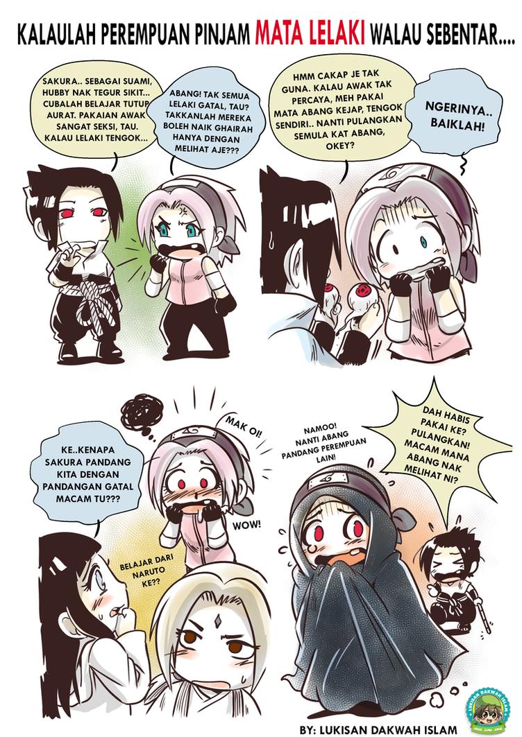 Sasuke and Sakura by saurukent