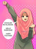 HAPPY FASTING by saurukent