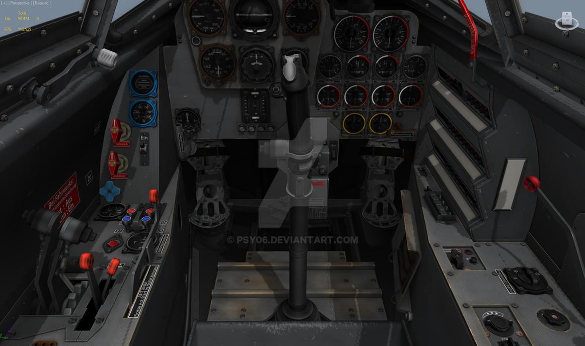 Me 262 3D cockpit for Digital Combat Simulator by Psy06 on DeviantArt