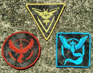 Pokemin Go team patches
