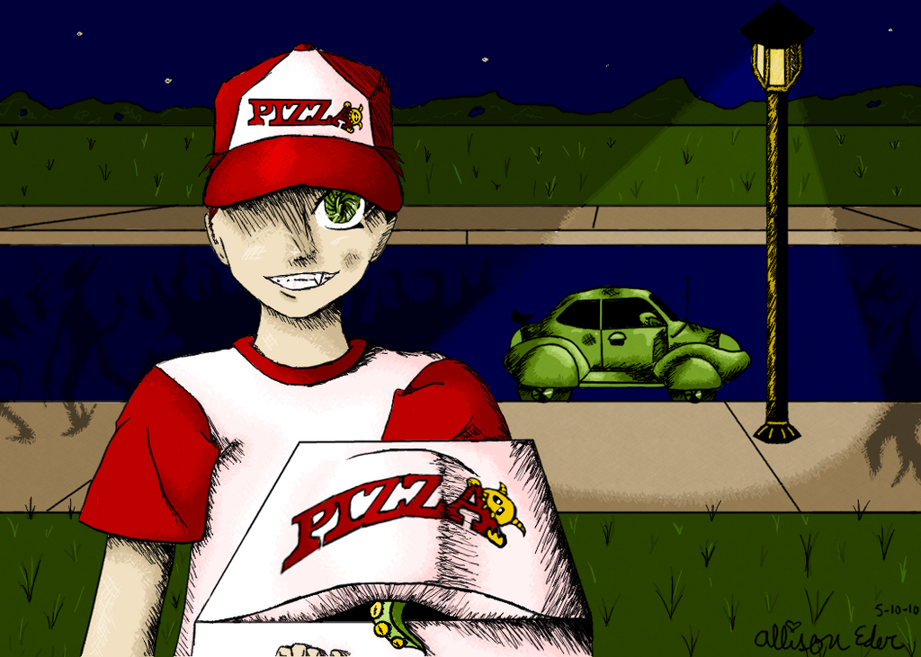 Pizza Delivery by 4dreamcastonly